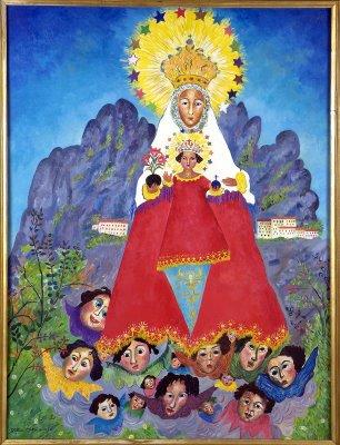 Virgen de Montserratlinda